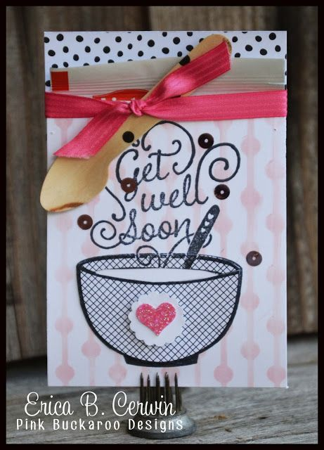 Stampin' Up Get Well Soup, Stamp Club Project @Pink Buckaroo Designs