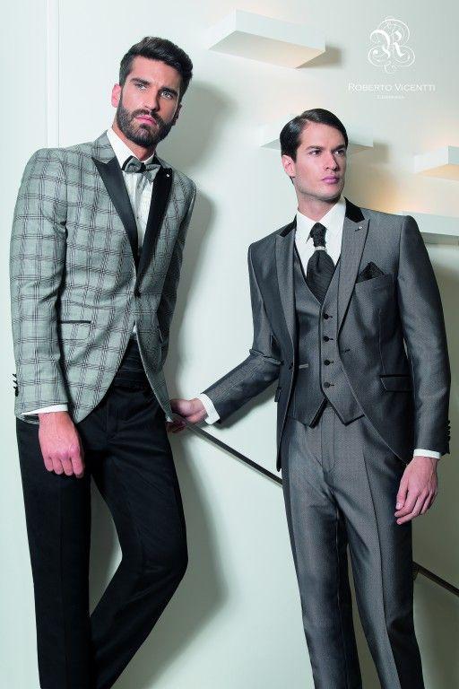 Espectaculares para cualquier ocasión con estos diseños de Roberto Vicentti. #moda #fashion #bodas #ceremonia #novios #gala