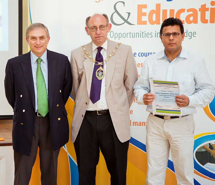 Aamer Raza won a Volunteer award for this work as an IT Club leader for Work Redbridge