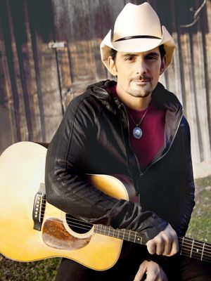 """""""A preacher once told us that after the kids leave home, if you haven't had a conversation in 18 years, it'll be pretty hard.""""   - Brad Paisley on why he prioritizes date night with his wife"""