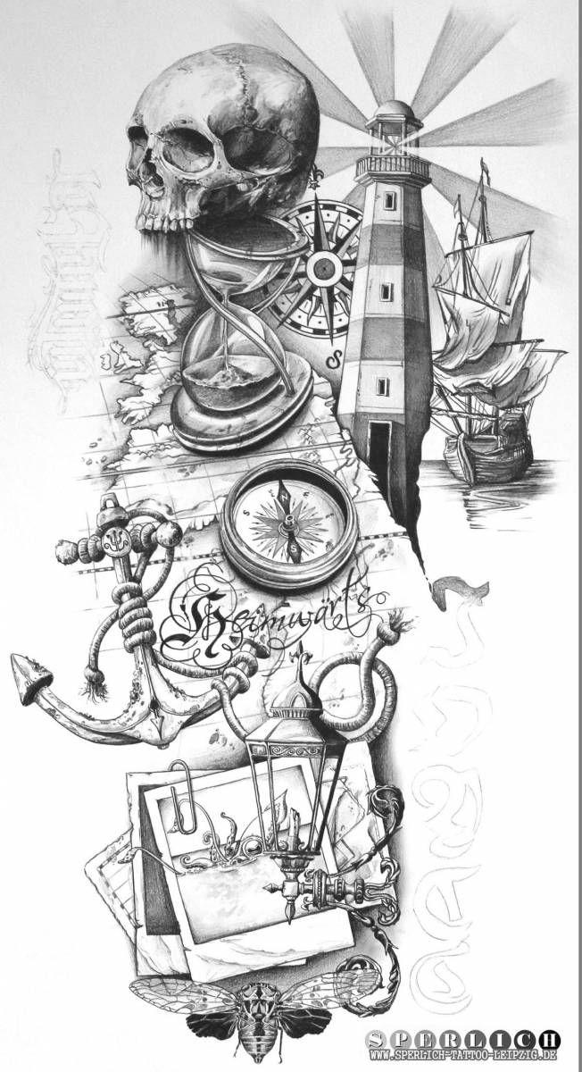 Die besten 17 ideen zu leuchtturm tattoos auf pinterest t towierungen palmen tattoos und - Tattoo leuchtturm ...