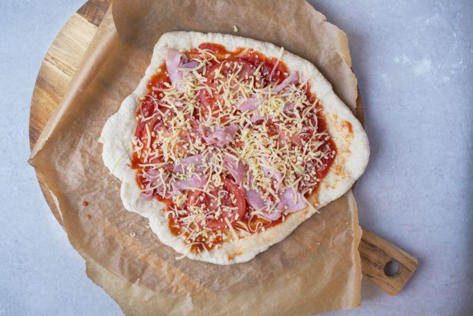zelfgemaakte bevroren pizza's (8)