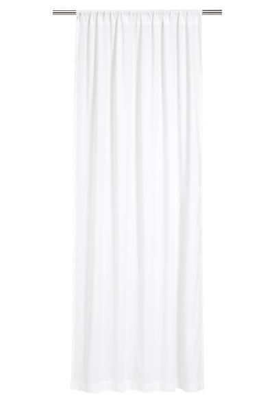 2-pack curtain lengths: Curtain lengths in cotton & polyester voile with a wide cased heading.