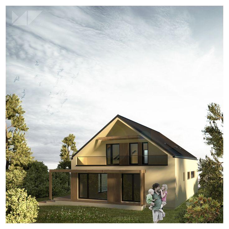 single family house PA, Slovakia | MP studio