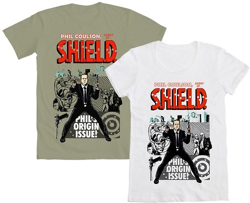 WE LOVE FINE WEDNESDAY LOVES AGENT PHIL COULSON!  And we KNOW you do too, Avengers fans… so repin this post and you'll be entered into a drawing for a FREE Coulson tee by NinjaInk! Mens AND womens sizes available!  Repin NOW and win! Good Luck!