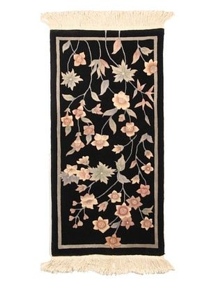 75% OFF Roubini Chinese Art Deco Hand Knotted Rug, Multi, 4' 2