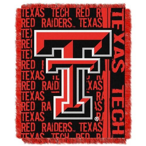 Texas Tech University Bed Throw Blanket Bedding 48 x 60