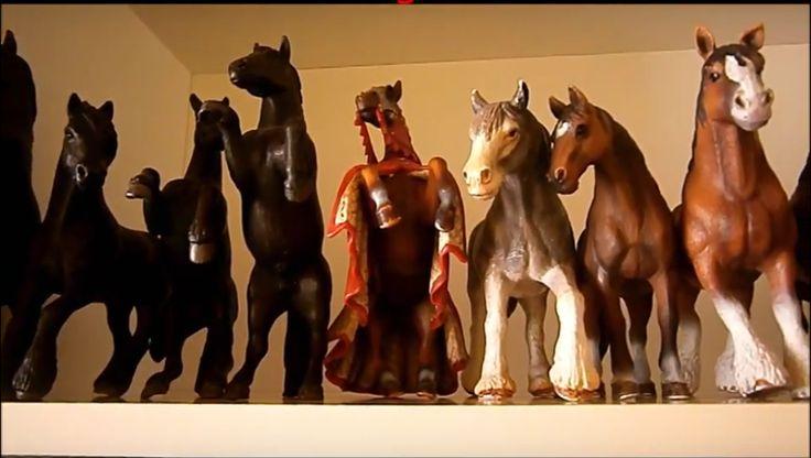 Mi pequeña coleccion caballos Schleich - My little horse Schleich collection