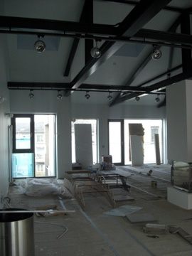 WIP at the LuxLoft penthouse. 5.5 metre high ceilings. Liepaja, #Latvia vacation home rental