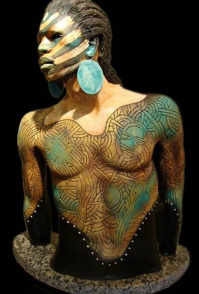 Ceramic Sculptures by Woodrow Nash