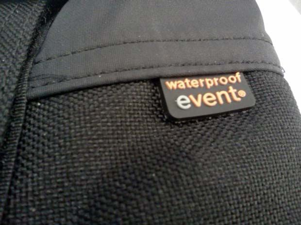 Sea to Summit Gaiter made with Event waterproof fabric.