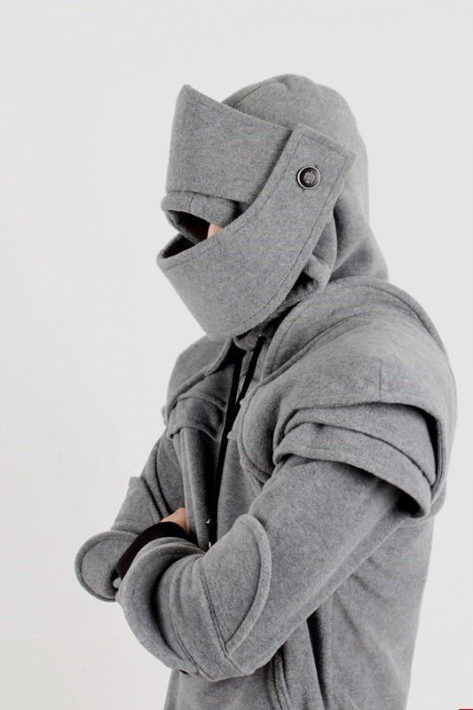 Duncan Armored Knight Hoodie(100% Handmade) Made To Order Like this.