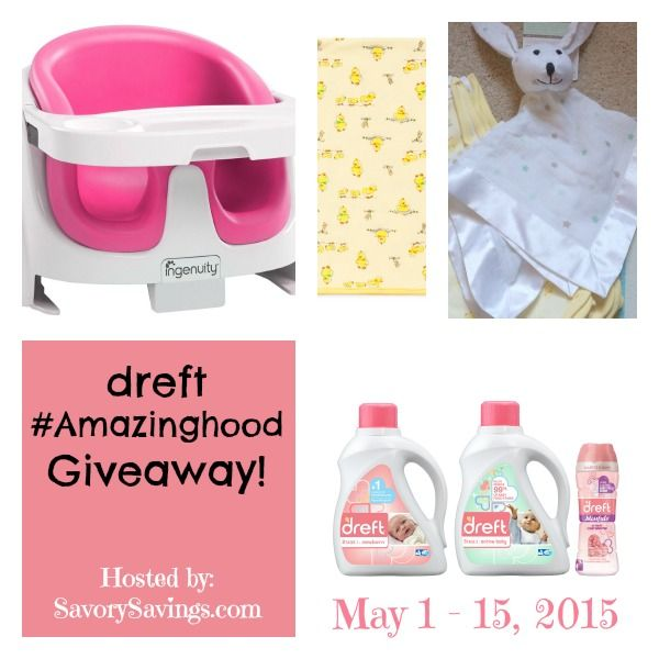 dreft #Amazinghood #Giveaway Ends 5/15 @Dreft @LittleMe_Baby | Michigan Saving and More -