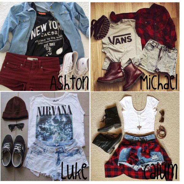 """5SOS Preferences: What You're Wearing When He First Meets You"" by kite200416 on Polyvore"
