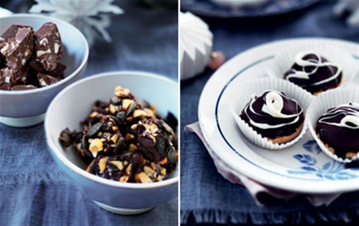 7 opskrifter på juleknas og konfekt