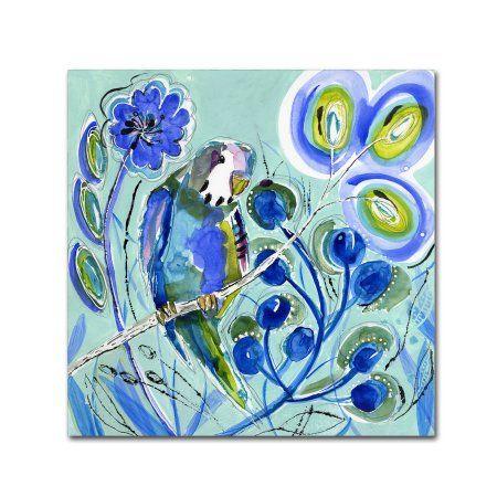 Trademark Fine Art 'sweet Blue' Canvas Art by Wyanne, Size: 35 x 35, Blue