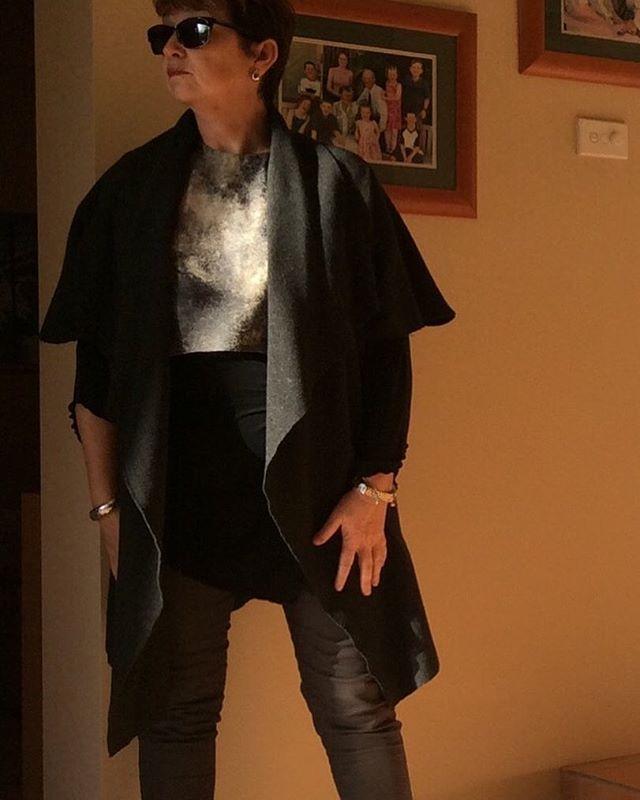 #mmmay16,day30 #tessutipatterns,Sydney coat, #birds style top