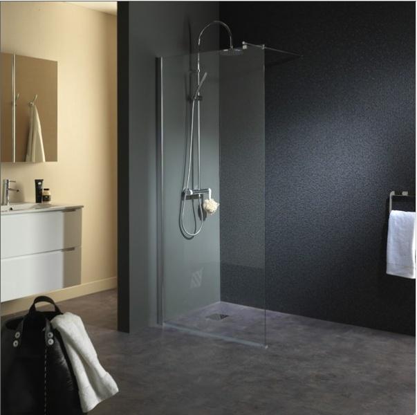 Paroi de douche en verre hyper design !  #doucheverre