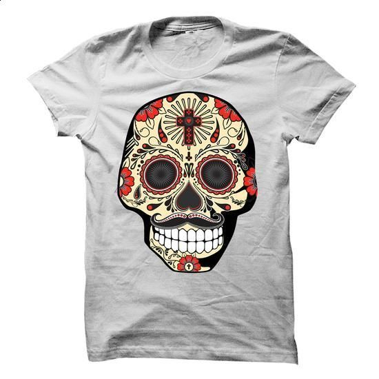 Sugar Skull - Guy - #dc hoodies #transesophageal echo. PURCHASE NOW => https://www.sunfrog.com/LifeStyle/Sugar-Skull--Guy.html?60505
