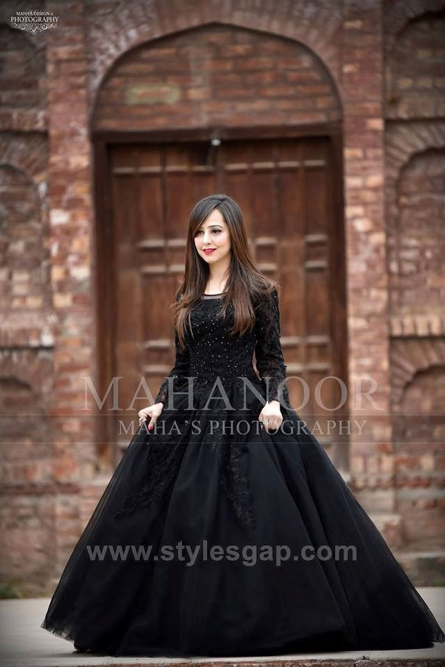 Latest Black Color Dresses Combination Asian Trends 2020