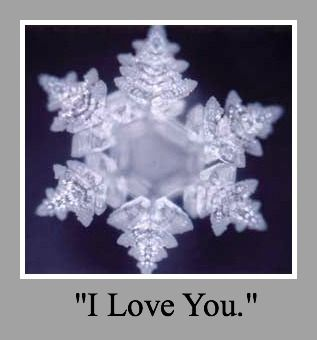 Comfy Chair Astrology: Proof that your Thoughts Influence your Reality - the work of Dr. Masaru Emoto