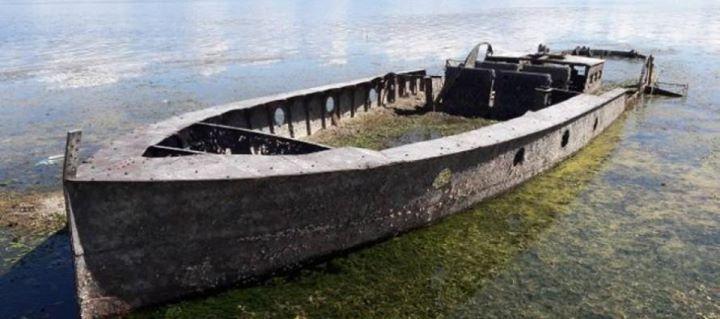 Lago di Scutari: La siccità prolungata porta alla luce un'imbarcazione a vapore austro-ungherese del XIX secolo http://ift.tt/2fosZ1P