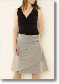 DIY wrap skirt pattern | Martha Mcquade on interweave
