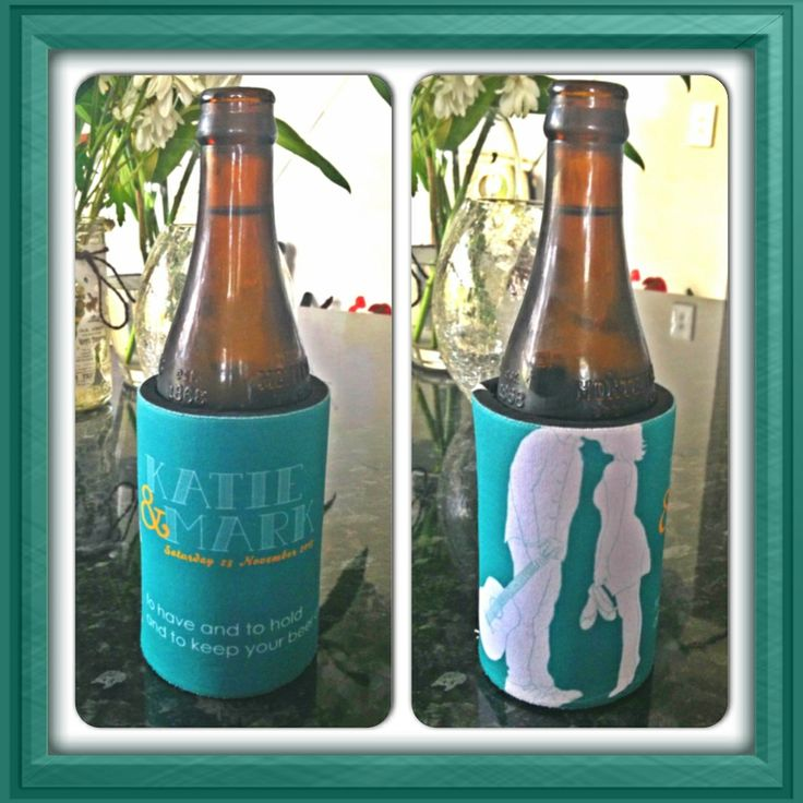 Wedding stubby holders are a great casual gift that guests will enjoy using on the day. Accessed: 20th March, 2014.