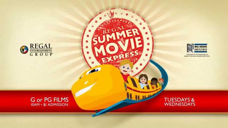 Summer Movie Express at Regal Cinemas - starts June 10 at Regal Citrus Park.