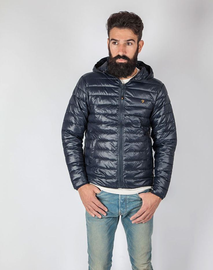 farah kyloe jacket navy shop s clothing at the idle