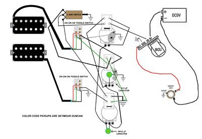 13 best guitar wiring images on pinterest