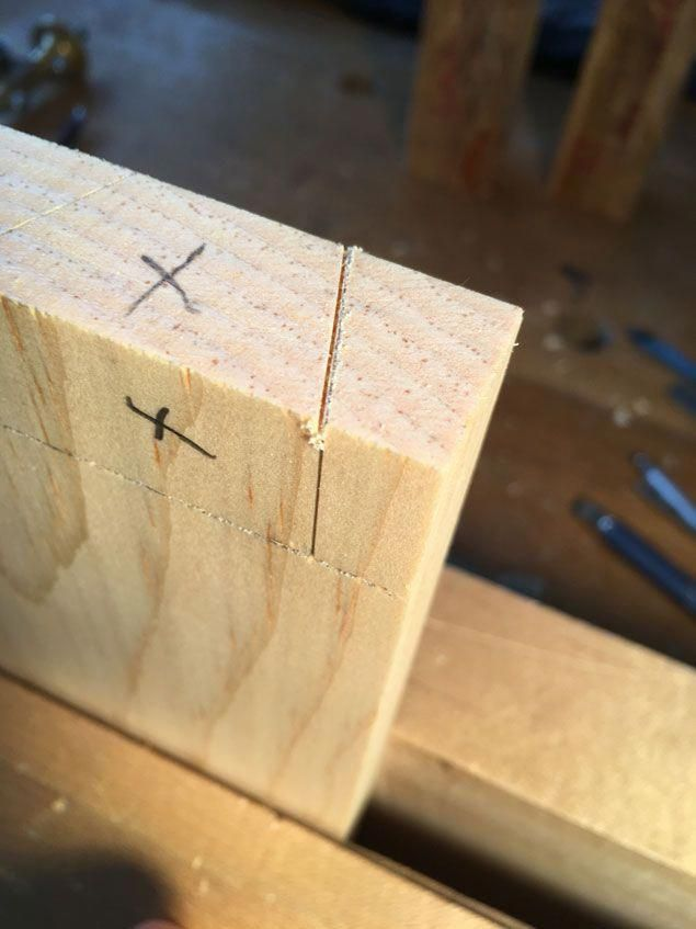 A Dovetailing Trick For Beginners Popular Woodworking Magazine