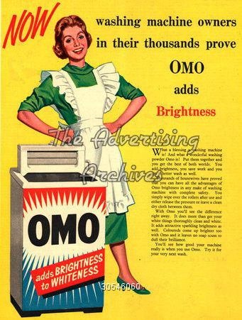 The Advertising Archives Magazine Advert Omo 1950s