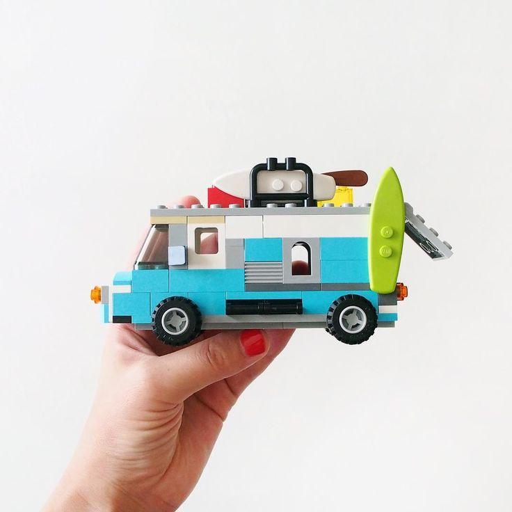 バンライフ / vanlife  #VANLIFE #LEGO #legostagram #volkswagen #legomoc #legobricks #legophotography #legobuilding #legobricks #legos #レゴ #自作レゴ #オリジナルレゴ #VW #Van #camp #car