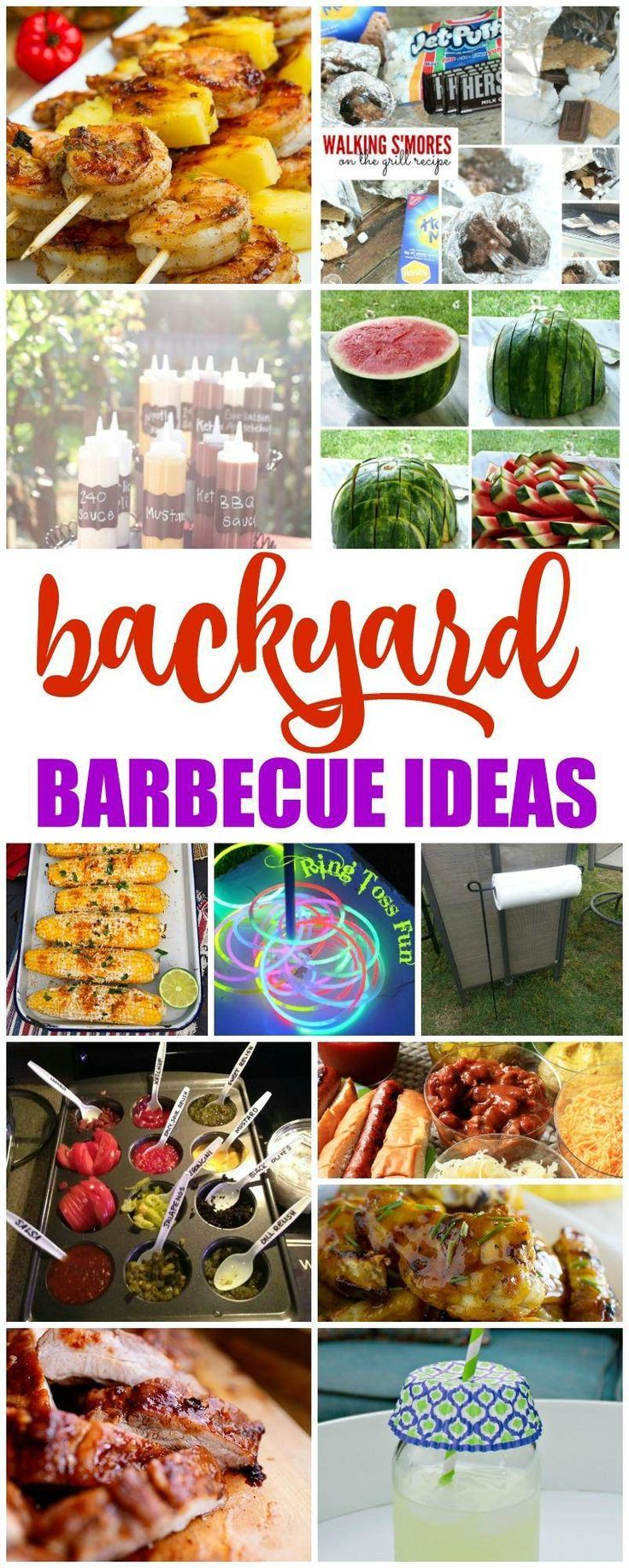 Backyard BBQ Recipes! A FUN way to celebrate Summer