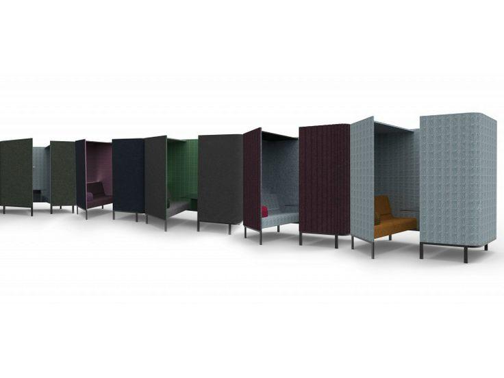 cabine de bureau acoustique en tissu buzzihive by buzzispace design alain gilles bureaux. Black Bedroom Furniture Sets. Home Design Ideas