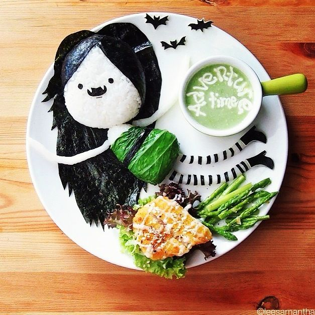Adventure Time Bento - food