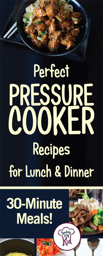 This is a must pin! Check out these amazingly tasty pressure cooker recipes that are perfect for the whole family! Feeding My Kid is filled with all the information you need about how to raise your kids, from healthy tips to nutritious recipes. #FeedingMyKid #pressurecooker #recipes #dinner #lunch