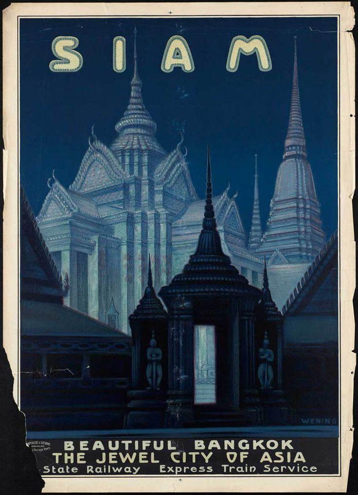 30 cartazes de viagem vintage