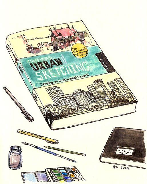 Urban Sketching Je me tâte pour l'acheter