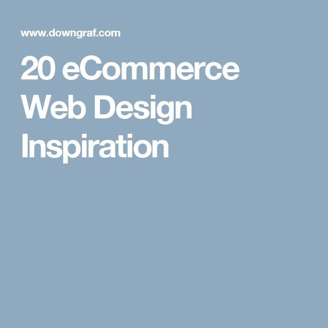 20 eCommerce Web Design Inspiration