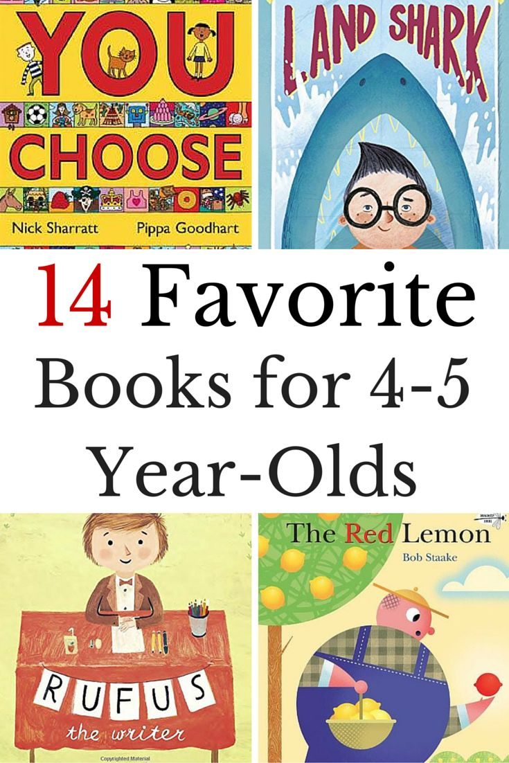 The best books for 4 year-olds is what you will find on this book list.   via @growingbbb
