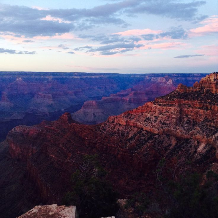 The Grand Canyon #justaftersunset