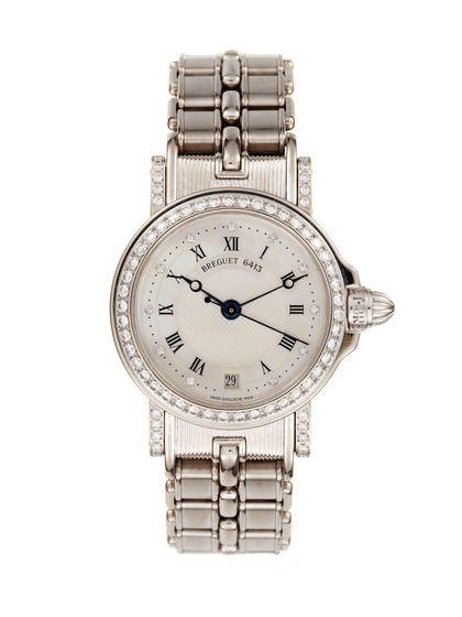 Breguet Marine Diamond Watch, 26mm by Breguet at Gilt