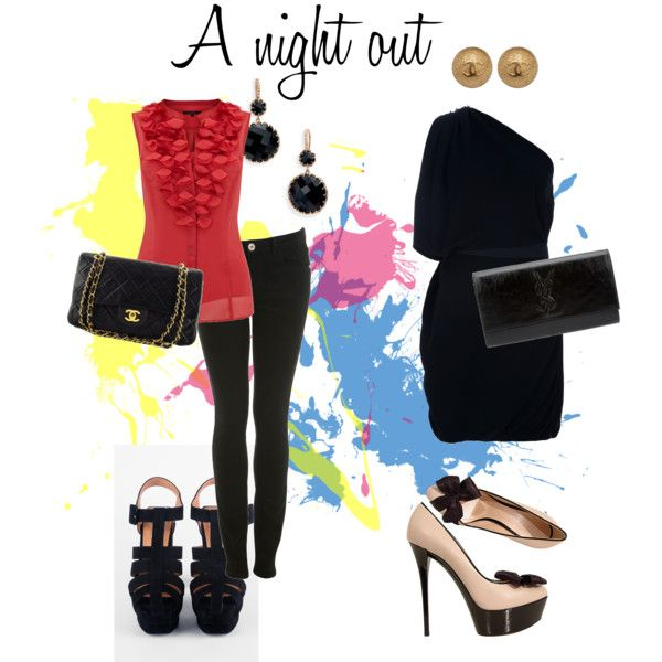 """""""A night out.."""" by tobiashansen on Polyvore"""