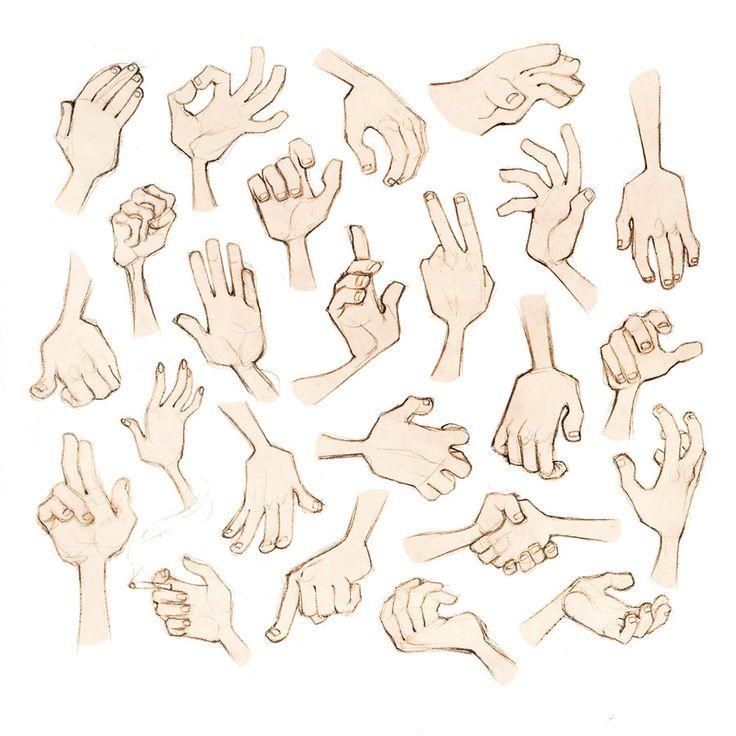 Mooooore Hands by conniiption.deviantart.com on @deviantART