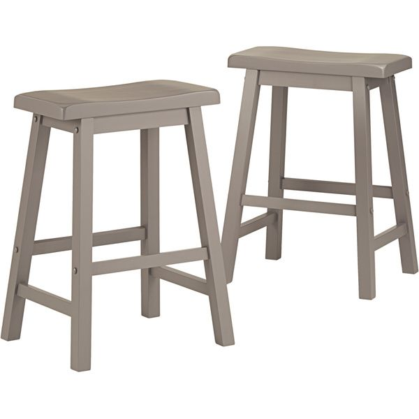 Salvador Saddle Back 24 Inch Counter Height Stool By