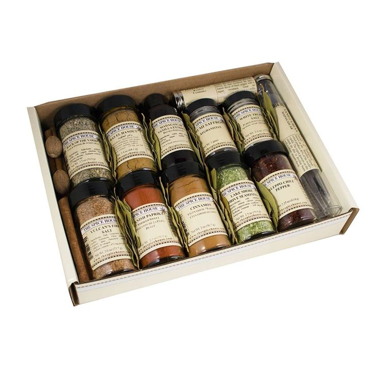 Deluxe gift box the spice trader spice house spice