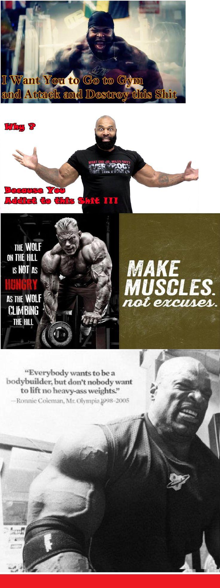 Gym Bodybuilding Motivation Time Fitness Ct Fletcher Ronny Coleman