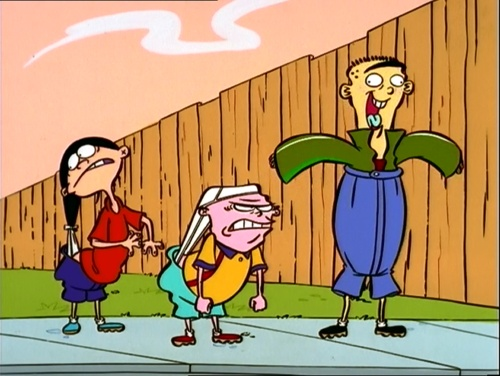 "ed edd and eddy and the american dream To ed or not to ed: the dream machine - part 1 edit history comments share it works"" eddy turned and winked at edd, who gave him a disapproving nod."
